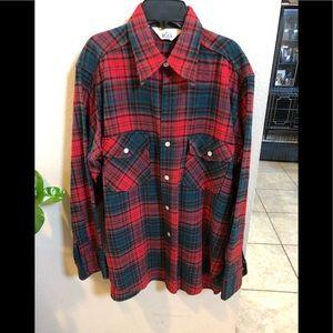 Vintage Woolrich Flannel size L